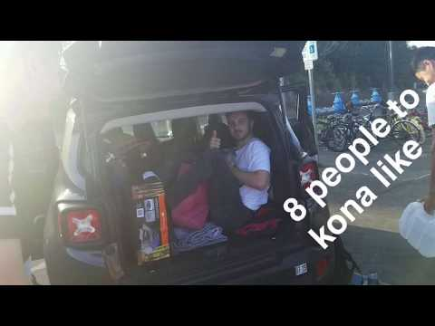 Crammed Car Adventures- Captain Cook Hawaii