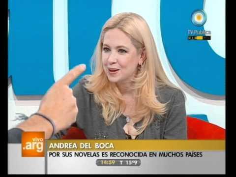 Vivo en Argentina - Invitada: Andrea Del Boca - 07-10-11 (1 de 2)