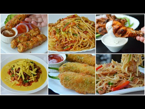 5 SPICY IFTAR RECIPES by (YES I CAN COOK)