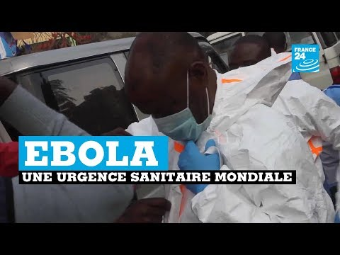 En RDC, l'épidémie d'Ebola déclarée urgence sanitaire mondiale