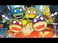 Teenage Mutant Ninja Turtles All Fun Mini Games - Nick TNMT Kids Game Collection!