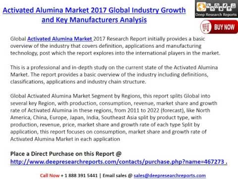 Global Activated Alumina Industry Growth Analysis and 2022 Market Outlook