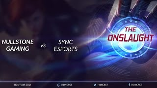 The Onslaught WB Finals - Null vs Sync game 1