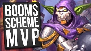 I Played Dr. Boom's Scheme AND IT WAS AWESOME! | Galakrond Warrior | Standard | Hearthstone