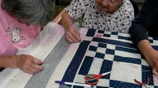 Thursday Quilting Bee - More Quilting Close-ups