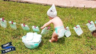 Cute Babies Doing Housework To Help Mother Fails ★ Funny Babies Video