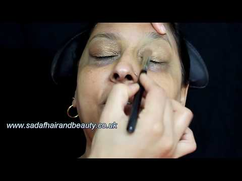 Party makeup for mature skin