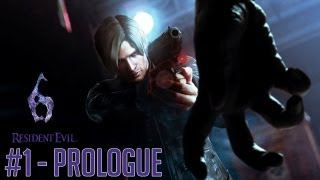 "Resident Evil 6 (PC) - Part 1 ""Prologue"" Walkthrough Gameplay PC PS3 XBOX"