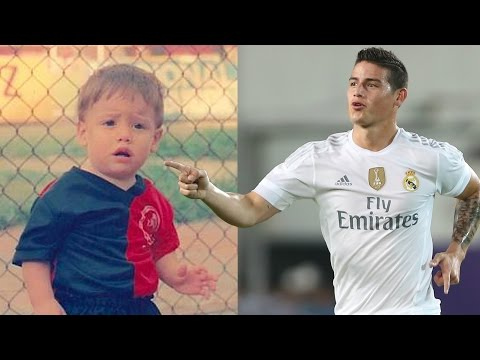 James Rodríguez Transformation Then And Now Face & Hair & Hairstyle  2017 NEW