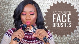 MY FAVOURITE MAKEUP BRUSHES! TOPSYCOLE
