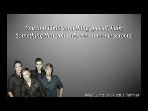 Better Man Westlife - Lyrics Video
