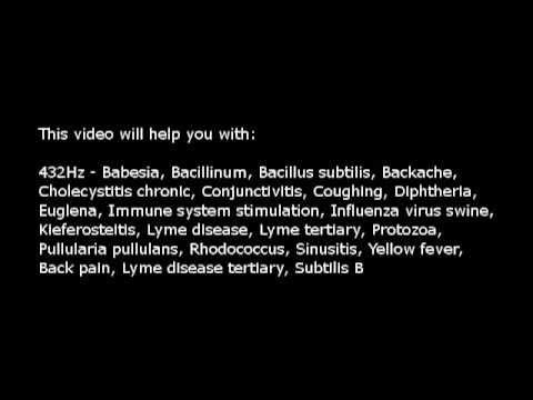 Lyme disease, Immune system stimulation, etc (Isochronic Tones 432 Hz) Pure Series
