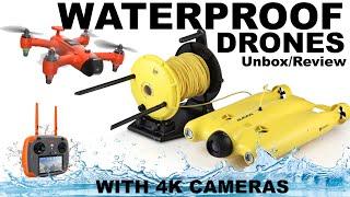 NEW: SwellPro Spry Waterproof 4K Drone & Gladius Underwater ROV