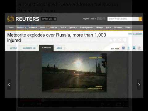 Hydrogen Plasma Orbs and the Russian Explosion