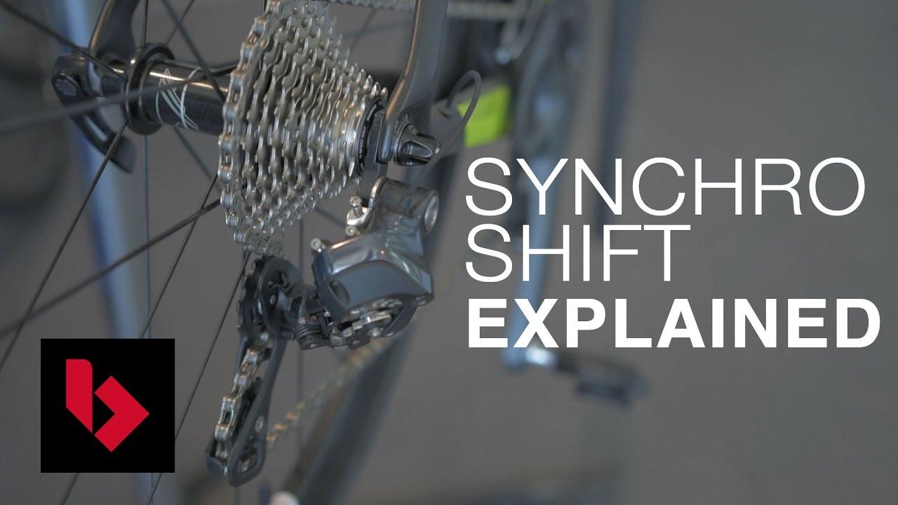 f734c08839f Shimano Di2 Synchro Shifting Explained