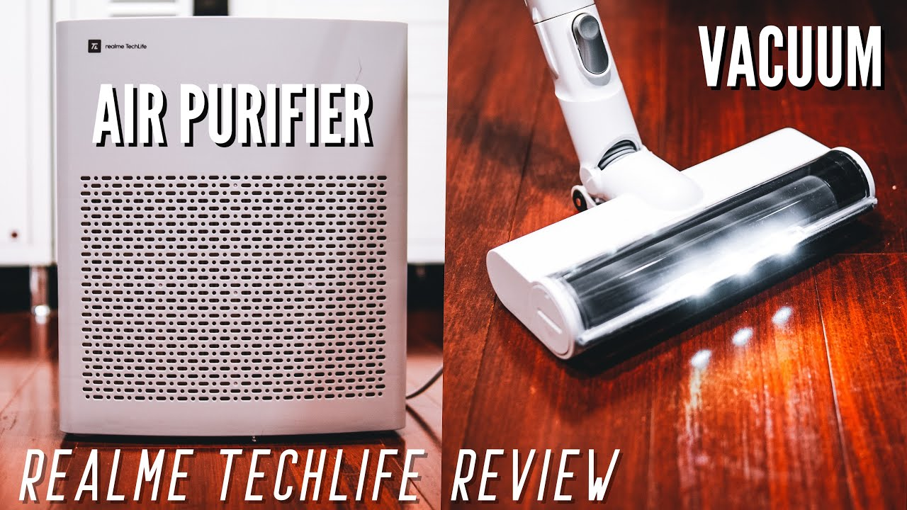 realme TechLife Air Purifier and Handheld Vacuum Cleaner Review: Worth Getting?