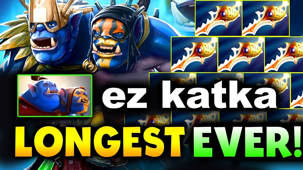 5 HOURS 25 MIN - EZ KATKA! - LONGEST DOTA 2 GAME EVER!!!