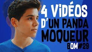 4 VIDEOS D'UN PANDA MOQUEUR - BULLSHIT-O-MÈTRE #29