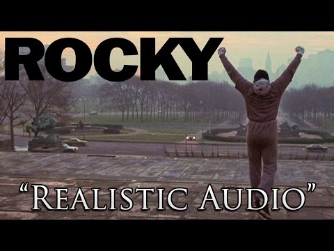 Someone put realistic audio to Rocky 1 training