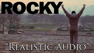 "Rocky 1 Training with ""Realistic"" Audio - (No Music)"