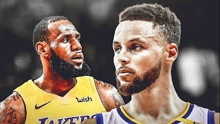 Stephen Curry Makes LeBron James Quit the NBA After Joining Lakers (Parody)