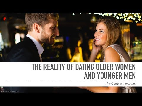 a girl dating someone younger