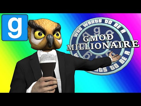 Gmod Sandbox Funny Moments - Who Wants to be a Gmod Millionaire?