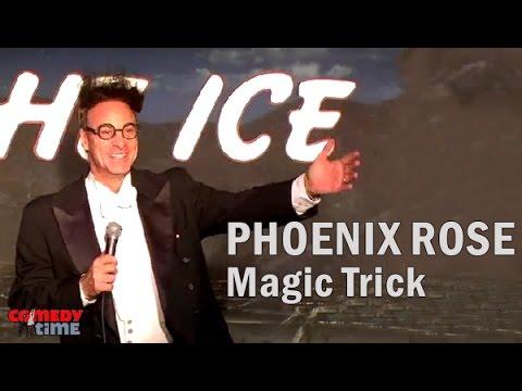 Comedy Time  Ed Alonzo: Phoenix Rose Magic Trick