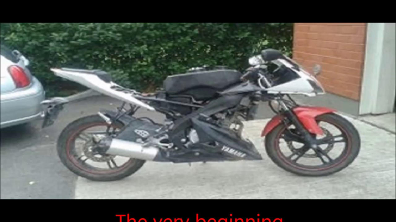 my yamaha yzf r125 tuning story youtube. Black Bedroom Furniture Sets. Home Design Ideas