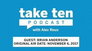 Take Ten with Alex Roux: Brian Anderson (Air Date: November 6, 2017) | Wisconsin | Big Ten Football thumbnail