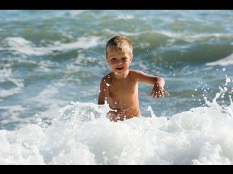 Здоровье наших детей - о пользе морской воды