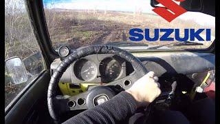 suzuki Samurai 1.3 POV MUD OFFROAD Test Drive