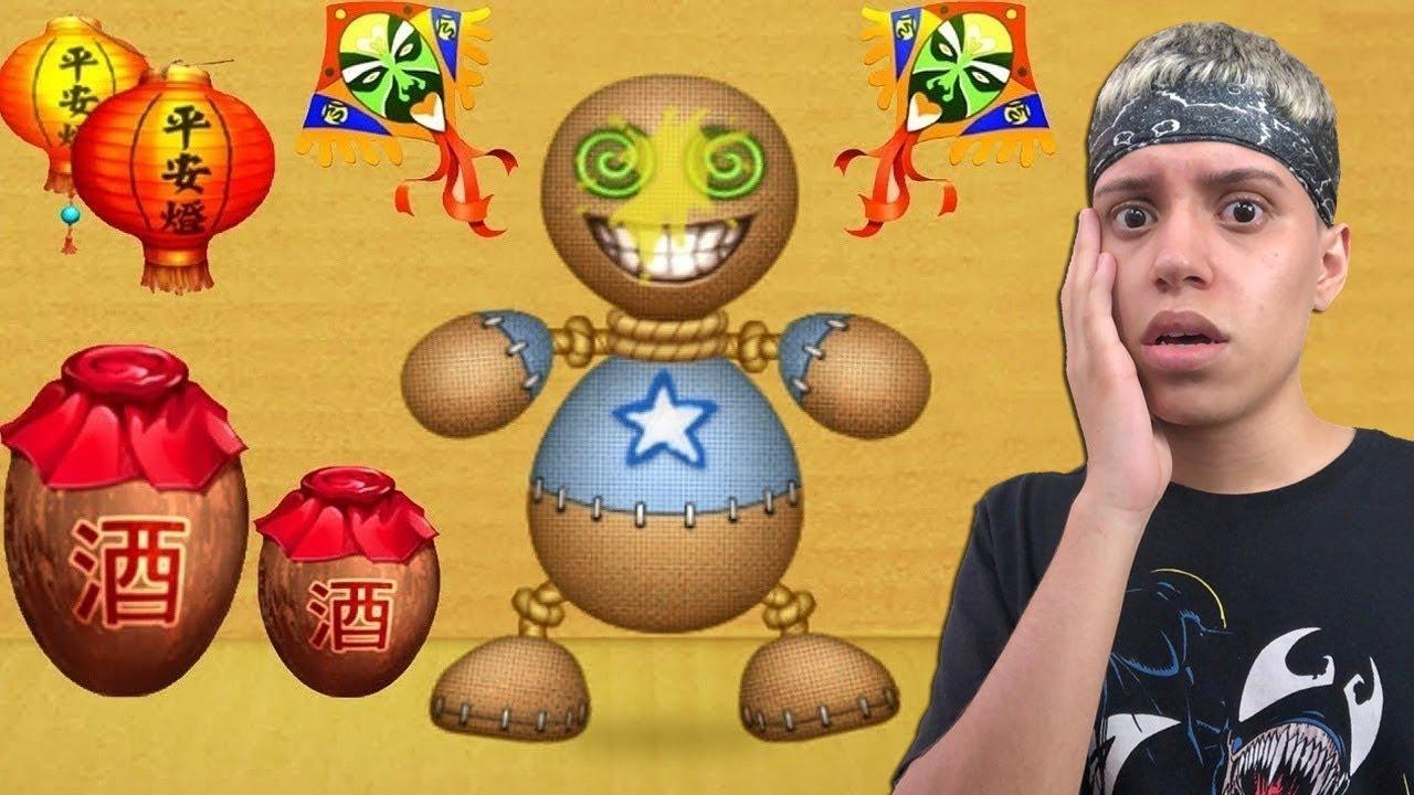 OBJETOS CHINESES PERIGOSOS VS BUDDY ! (Kick the Buddy)