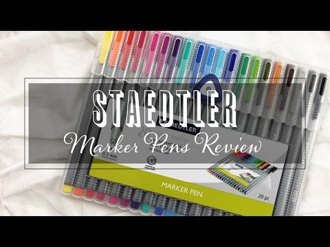 STAEDTLER Marker Pens Review