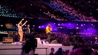 London 2012 Olympic Closing Ceremony (Tinie Tempah, Jessie J & Taio Cruz)