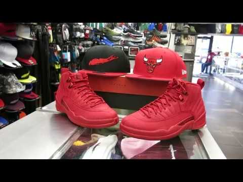 wholesale dealer 26df1 8ef87 Nike Air Jordan Retro 12 - Gym Red 12, at Street Gear Hempstead NY