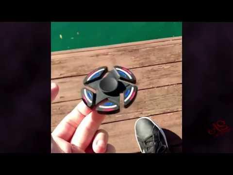 Fidget Spinner - Relaxing ASMR Compilation ✔