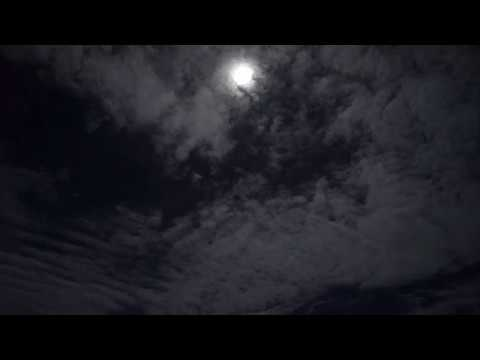 Saipan Airport and the Moon