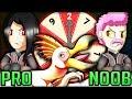 ARMOR ROULETTE CHALLENGE - Pro and Noob VS Monster Hunter World Multiplayer! (All Monster Event)