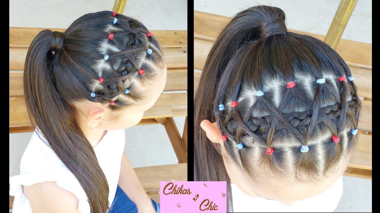 hair styles for back to school elastic bands braided headband hairstyles for school 3063
