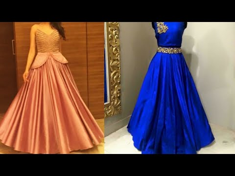 New latest engagement dress design ideas/party gown design ideas for Indian wedding