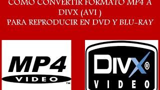 Video como convertir videos mp4 a divx download MP3, 3GP, MP4, WEBM, AVI, FLV Agustus 2018
