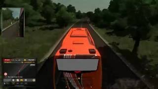 test live ETS2 Mod BUS INDONESIA #1