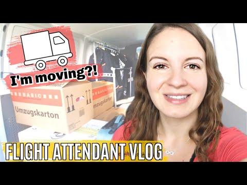 RECURRENT TRAINING + I AM MOVING // International Flight Attendant Vlog 34 2020