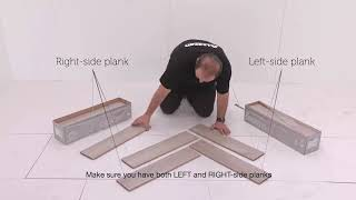 Liberty Floors 12mm Herringbone Laminate Flooring Installation Video | Leader Floors