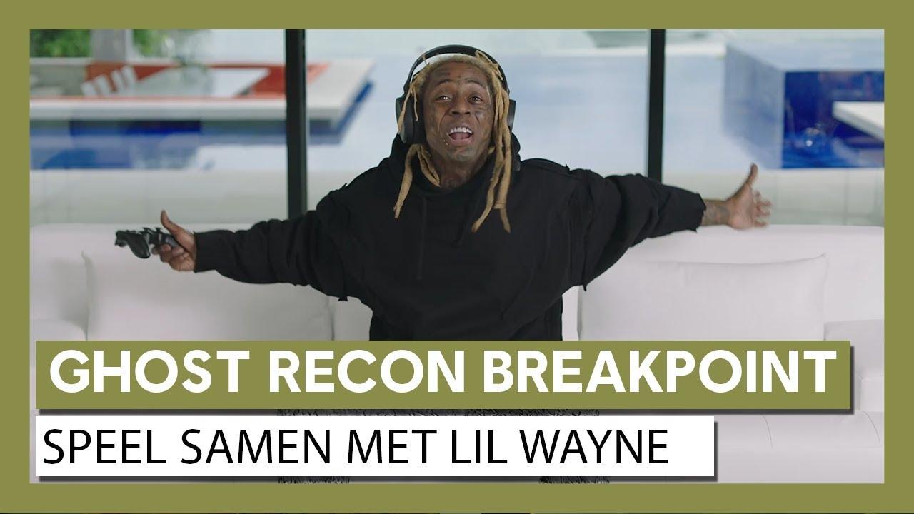 Ghost Recon Breakpoint: Speel Samen Live Action Trailer met Lil Wayne