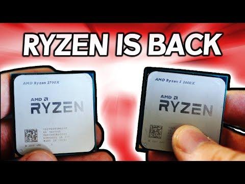Ryzen 7 2700X & Ryzen 5 2600X Vs. i7-8700K Vs. 1800X - Enthusiast's Review