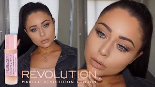 NEW Makeup Revolution Full Coverage Foundation First Impression + Review