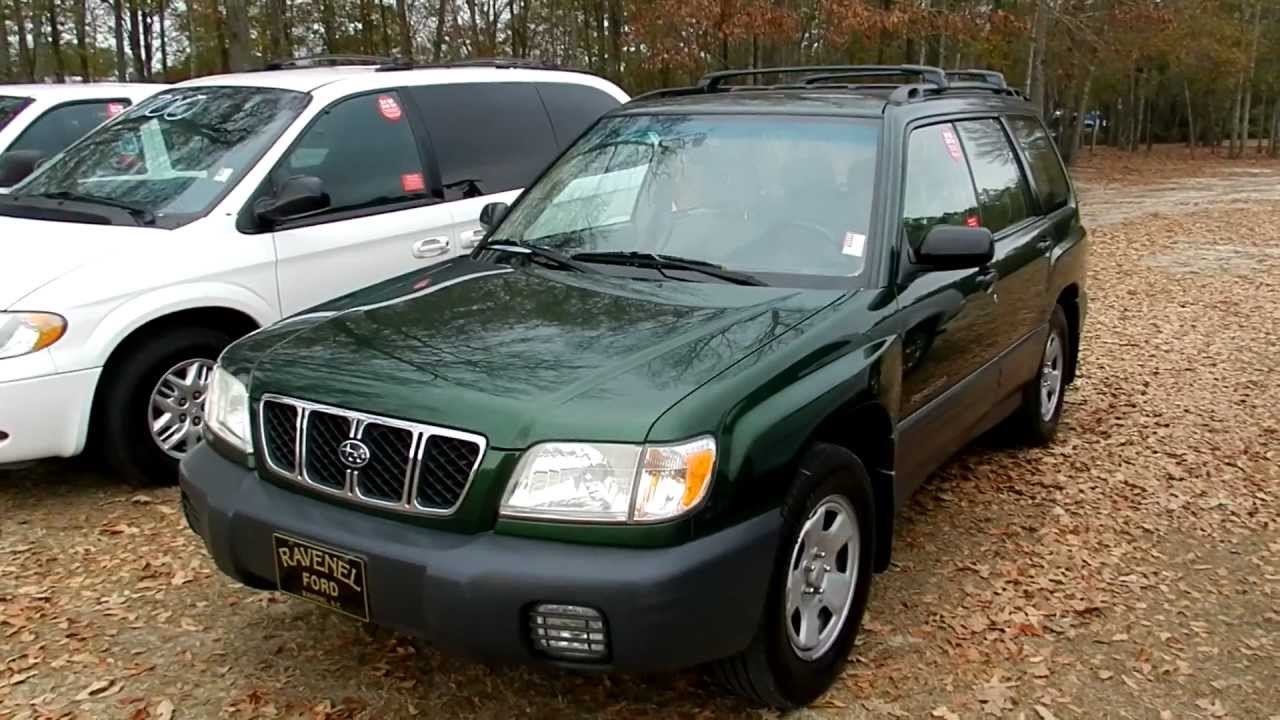 2002 subaru forester review l awd for sale ravenel ford charleston youtube