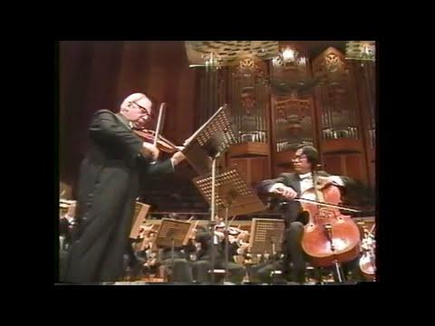 Brahms : Double Concerto/Isaac Stern & Yo-Yo Ma